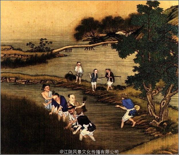 中国古代二十四节气古画 – 江阴风景文化传播有限公司