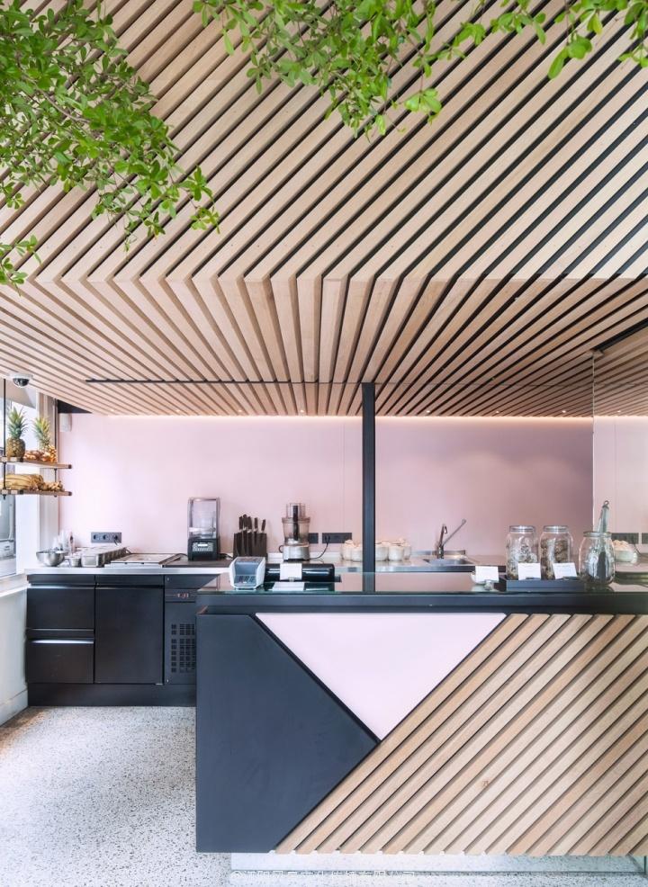 Standard Studio设计的阿姆斯特丹冷榨果汁店