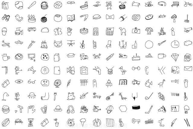 谷歌发布Quick Draw:5千万张矢量图,345个类别