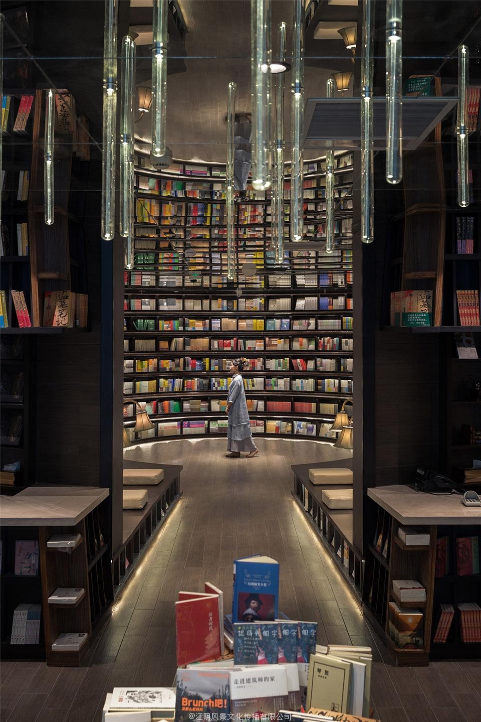 蒲江县书城书店书吧设计