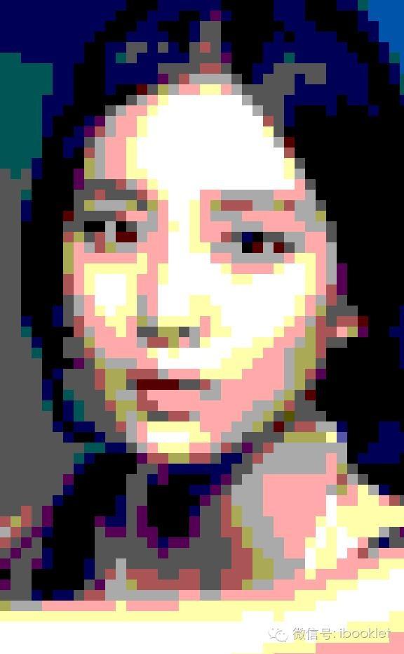 Photoshop将美女照片转成矢量风格